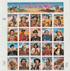 USA 1993 - Legends of the West  Classic Collection