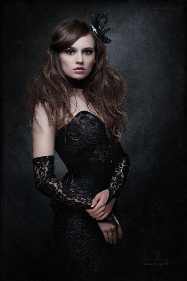 Portrait of a girl by ~Alex-Blyg on deviantART
