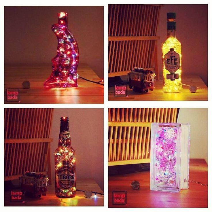 Lampbada'nın özel tasarım, masalarınıza dekoratif renkler katacak masa lambaları sorrpa.com'da!