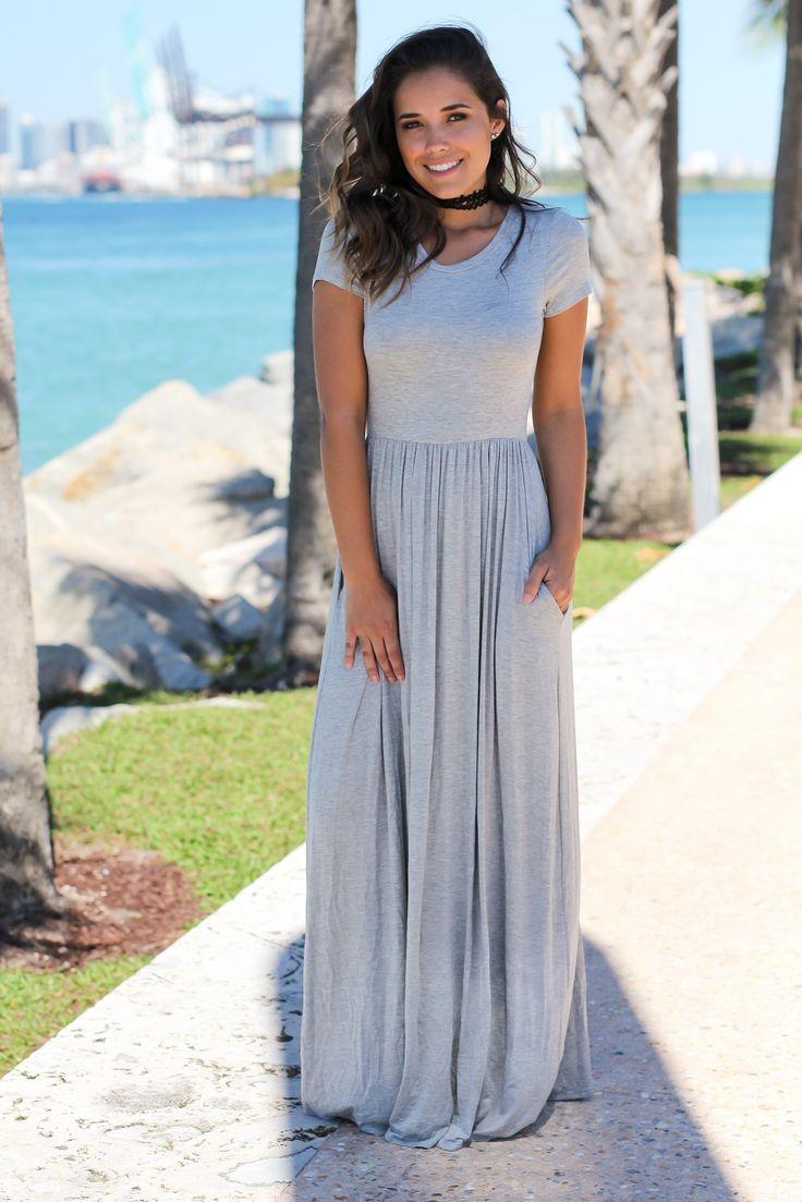 Modest petite dress with pockets — photo 11
