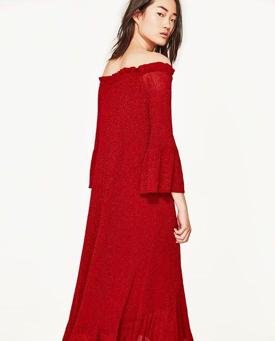 Image 3 of BOATNECK DRESS from Zara