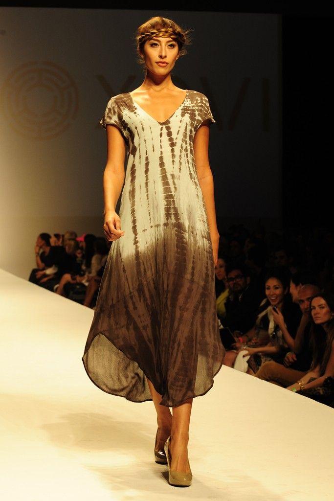 Nique shibori dress maxi
