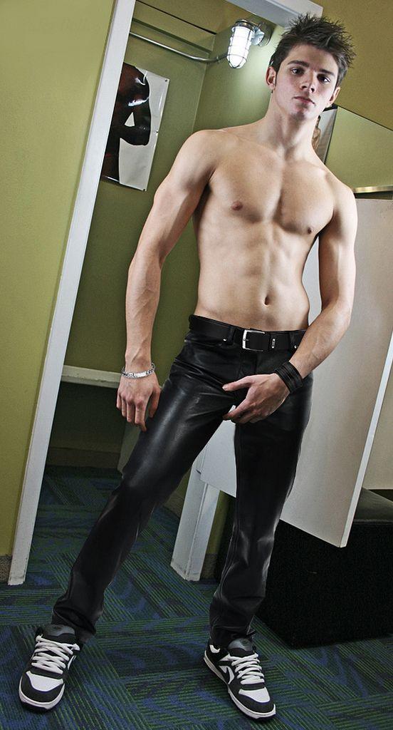 Gay Men Wearing Leather 27