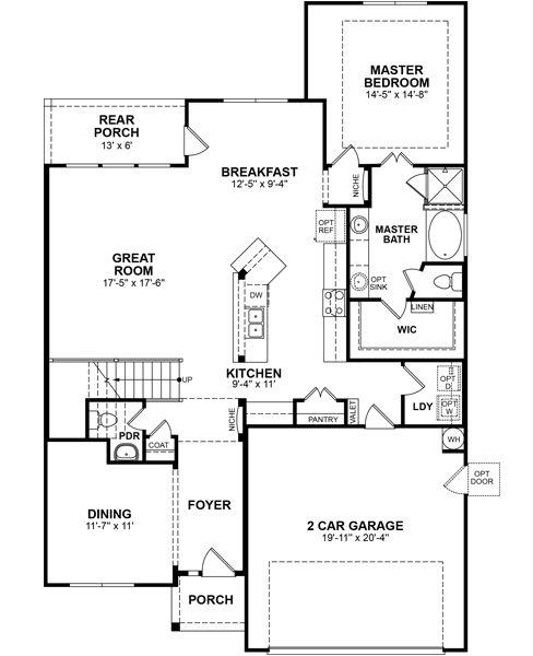 Pin by beazer homes on floor plans pinterest for Houston house plans