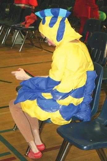 Flounder Halloween Costume