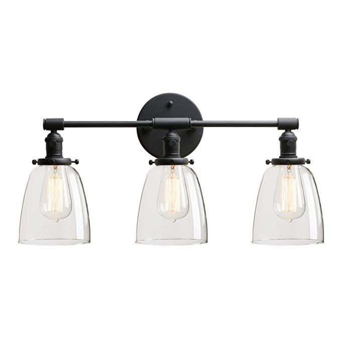 160 Permo Vintage Industrial Antique Three Light Wall Sconces With Oval Cone Clear Glass Shade Antique Amazon Com Wandleuchte Wandbeleuchtung Und Industrie Leuchten