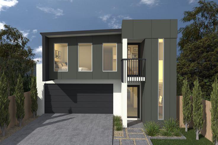 Costa Home Designs  Sunshine Coast  ARGENTO253  Signature Facade