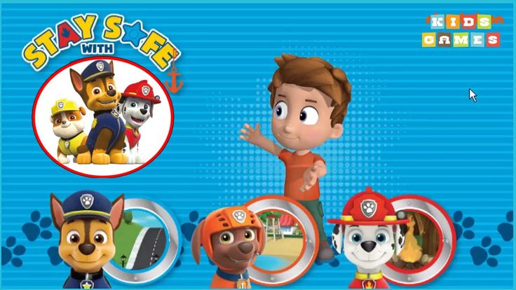 Nickelodeon Games to play online 2017 ♫ Stay Safe with Paw Patrol ♫ Kids Games