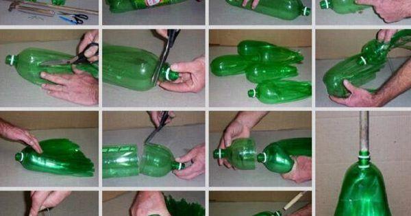 ¡14 ideas geniales para darle segunda vida a botellas de plástico!