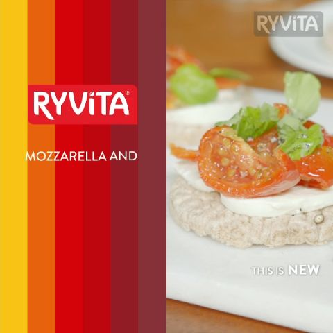 Have you tried our NEW Rye Cakes? Try Davina's Mozzarella & Sundried Tomato topping.