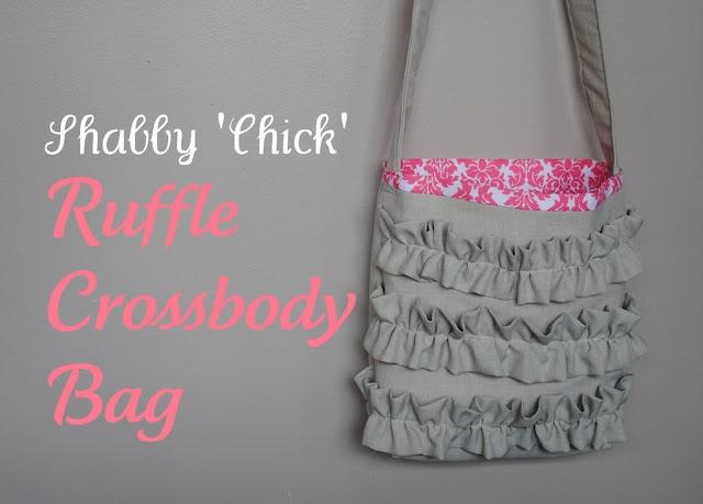 Shabby 'Chick' Ruffle Crossbody Bag: Crossbodi Bags, Phunki Phashion, Crafts Ideas, Ruffles Crossbodi, Bags Tutorials, Shabby Chick, Ruffles Bags, Bag Tutorials, Christmas Gifts