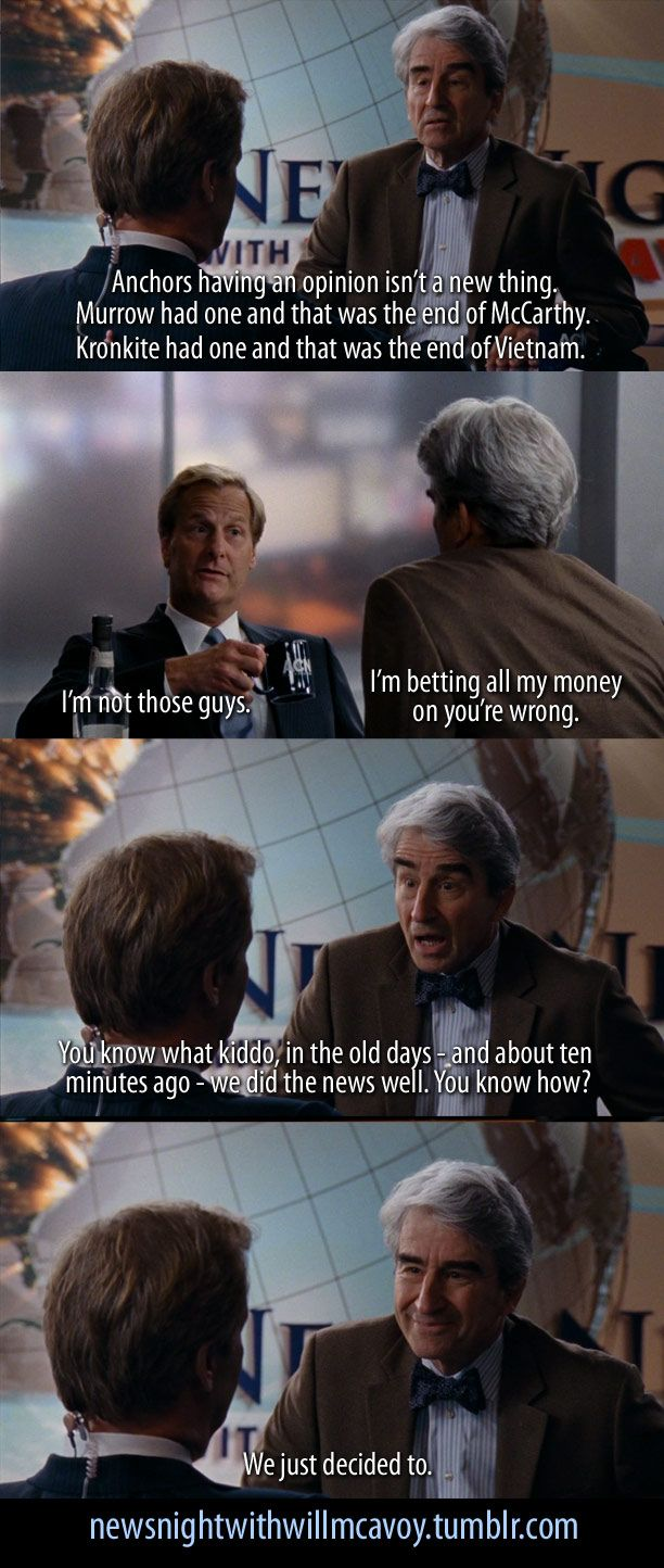 The Newsroom HBO credit: newsnightwithwillmcavoy tumblr
