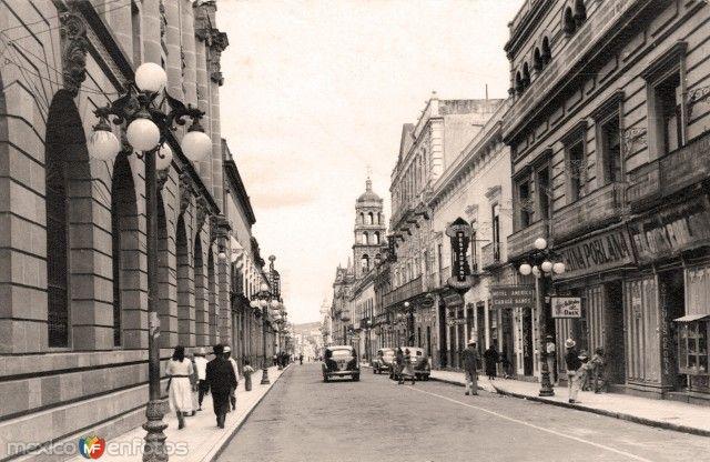 Fotos de Puebla, Puebla, México: Puebla, Avenida Ayuntamiento hoy Av. Palafox y Mendoza.