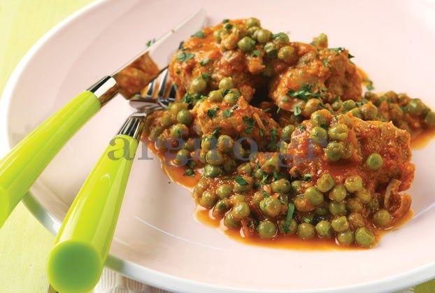Ένα φαγητό που θα ευχαριστηθούν και τα παιδιά, αφού λατρεύουν τον αρακά.