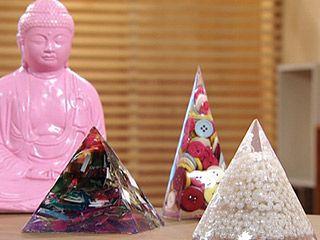 Manualidades y Artesanías | Pirámides de resina | Utilisima.com