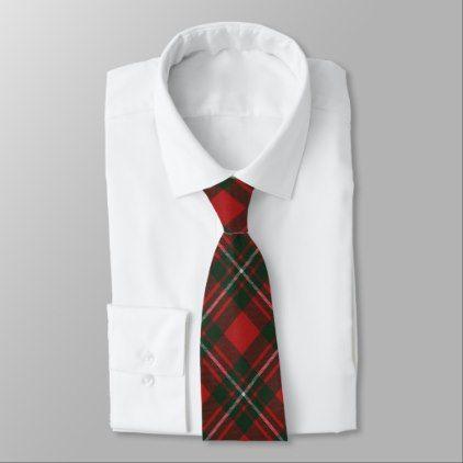 MacGregor Modern Original Scottish Clan Tartan Tie - original gifts diy cyo customize