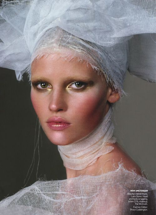 Lara Stone: House Of Holland - Vogue by Steven Meisel, March 2010
