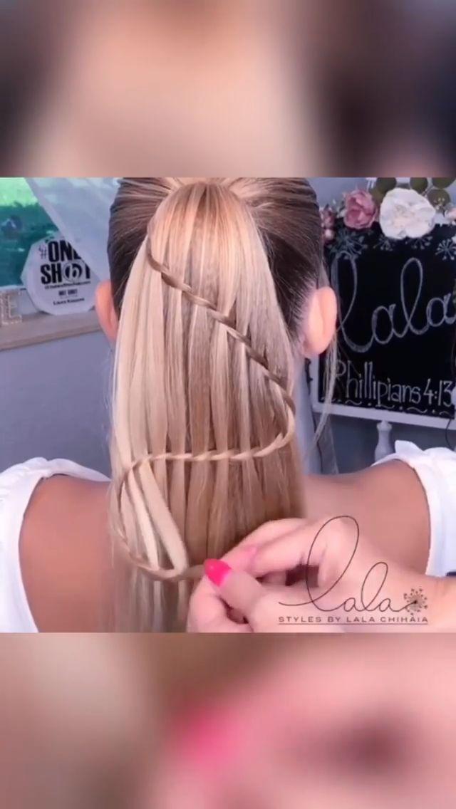 20 Quick And Easy Hair Styles Video Tutorials Frisuren Geflochtene Frisuren
