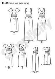 simplicity 1420 Linework