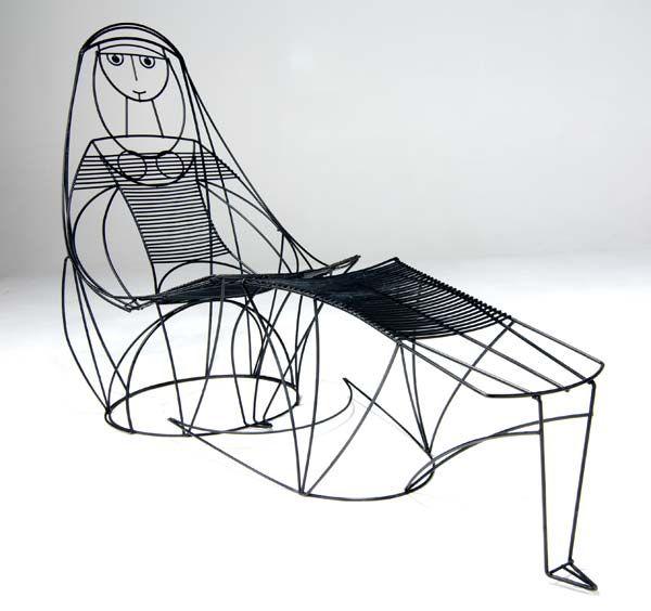 Lady Lounge Chair by John Risley #Chair #John_Risley