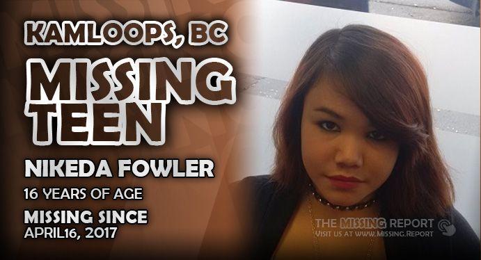 British Columbia Missing Report - #Kamloops, #Quesnel #Missing #MissingPerson #MissingPeople #MissingCanada #BCMissing #MissingBC #BritishColumbia #BC - http://sha-re.me/crsb