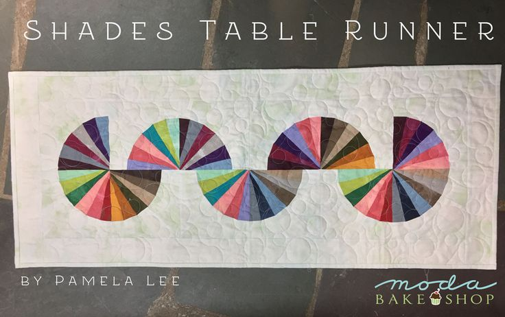 Shades Table Runner