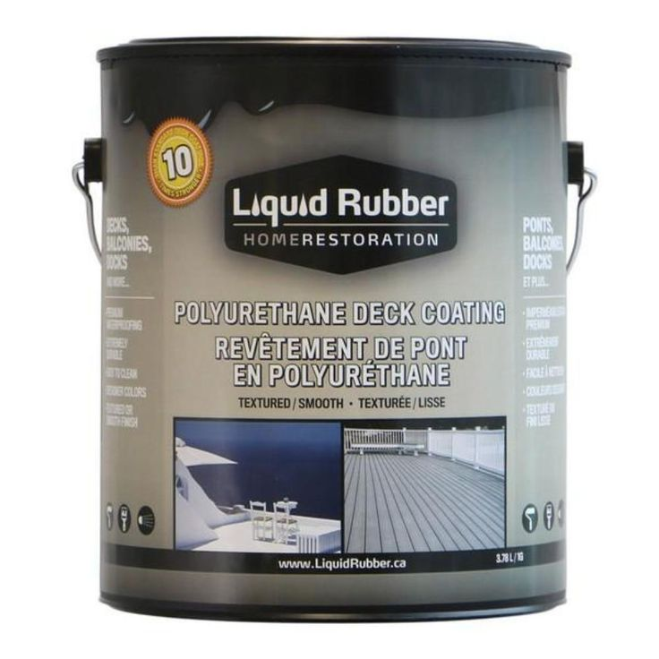 Liquid Rubber Polyurethane Deck Coating in 2020 Metal