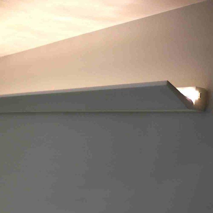 Stuckprofil Indirekte Deckenbeleuchtung Stuckleiste LED Streifen Beleuchtung Bild 1