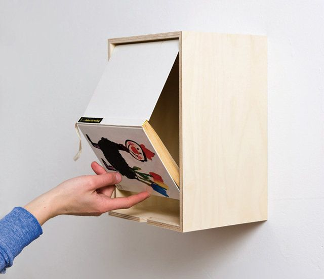 1 | Turn Beautiful Book Covers Into Wall Art That Doubles As Storage | Co.Design | business + design