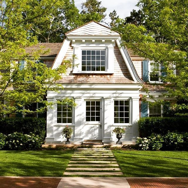 169 best gambrel design images on pinterest exterior for Gambrel roof house plans