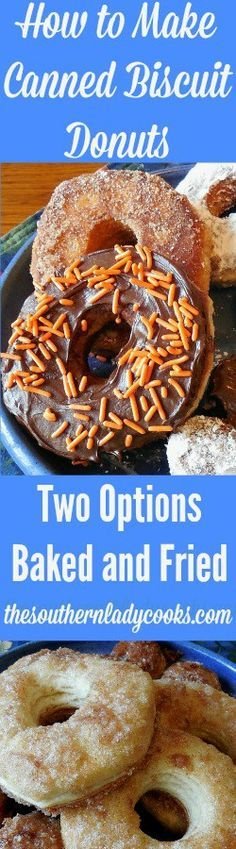 how-to-make-canned-biscuit-donuts