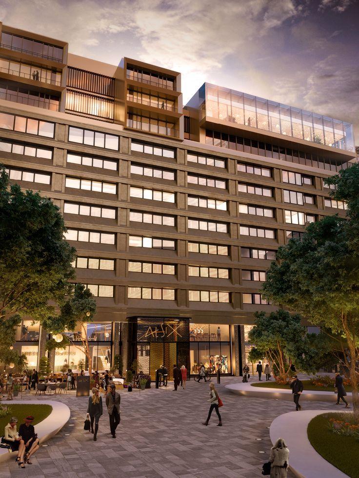 Beautiful Hotel Facade - At Six