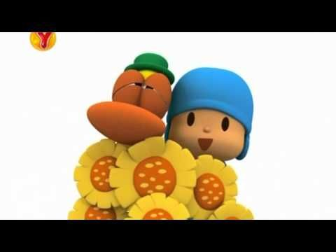 Choose main words and create lessons around Pocoyo episodes....