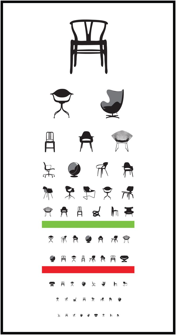 lol after studying the history of chairs at uni i can appreciate this eye chart :-P