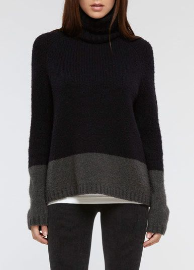 Vince or Rick Owens cashmere sweaters