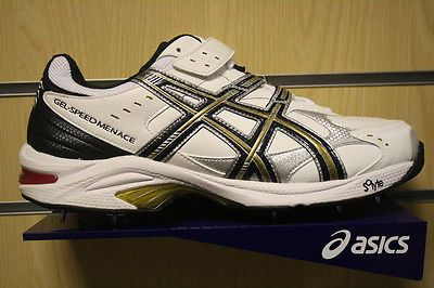 asics gel speed menace 2 cricket shoes 2012