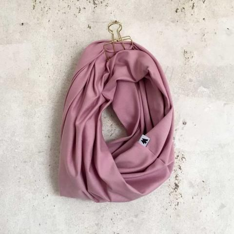 Infinity Scarf - Old Rose