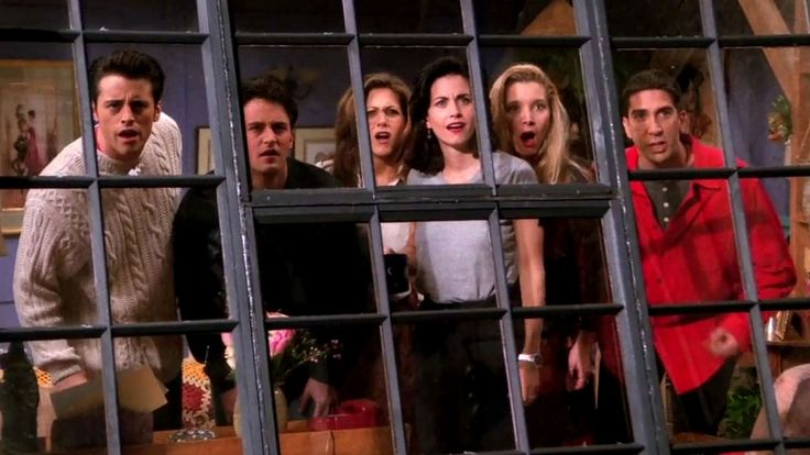 As classic TV series Friends celebrates its anniversary, the creators with its six megastars have reunited, confirming an unscripted one-off special that will be released with the official launch of the new streaming service HBO Max in May Friends Tv Show, Tv: Friends, Friends Season 1, Serie Friends, Friends Cast, Friends Episodes, Lucas Scott, David Schwimmer, Terry Crews