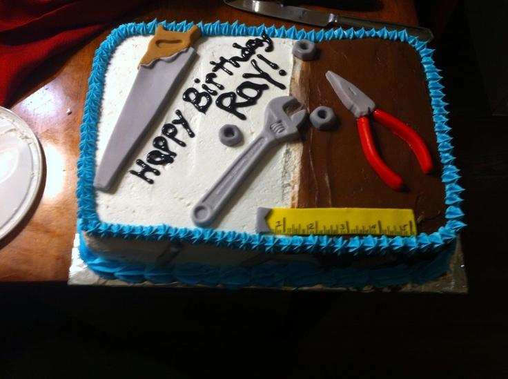 Maintenance Man Cake Rockstar Cakes By Cynthia