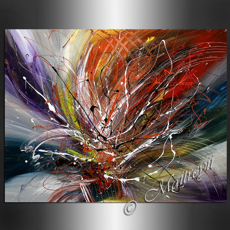 Art Painting Abstract LARGE ARTWORK paintings por largeartwork