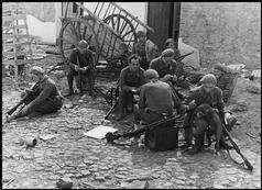 Spain - 1937. - GC - La Granjuela - Late June, 1937. - Republican soldiers on the Cordoba Front.