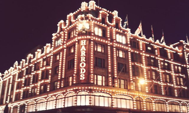 Wonderful harrods © I. Vrabľová