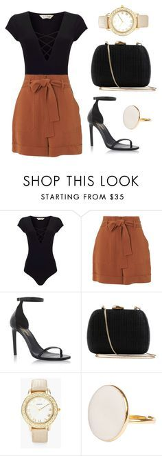 """""""Untitled #261"""" by jasmine-abdallah on Polyvore featuring Miss Selfridge, Whistles, Yves Saint Laurent, Serpui and Chico's"""