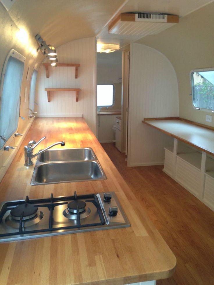 1973 31 Remodeled Airstream Campers Airstream Interior Airstream Bathroom Airstream Campers