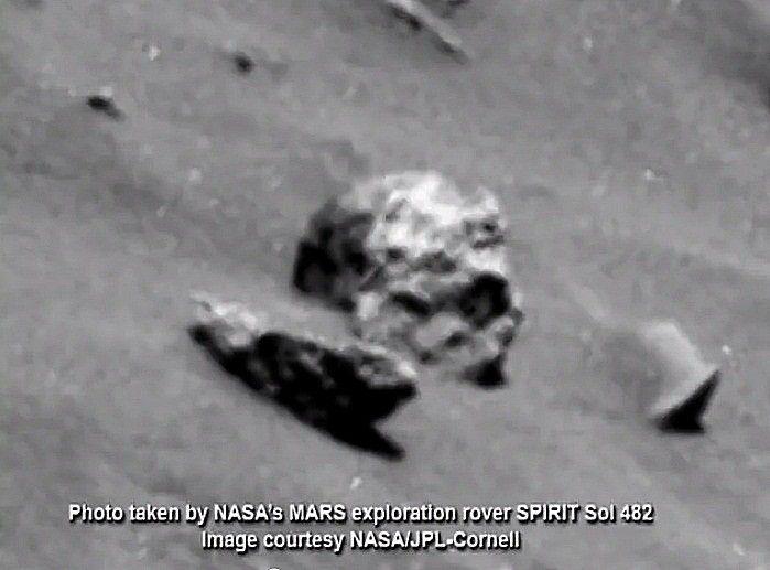 Откуда на Луне человеческий скелет?