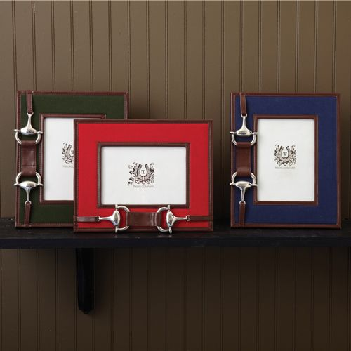 """Two's Company Bridle 5"""" x 7"""" Photo Frames"""