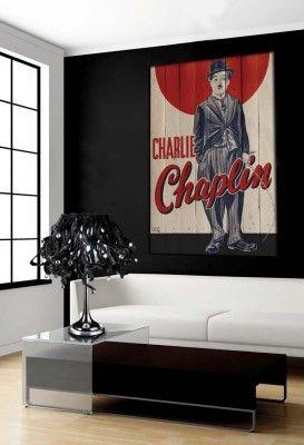 Cuadros Decorativos con Palets : Modelo CHAPLIN I www.decoracionbeltran.com