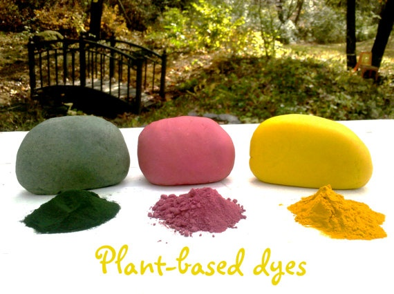 DIY ECO - Play Dough and FInger Paints
