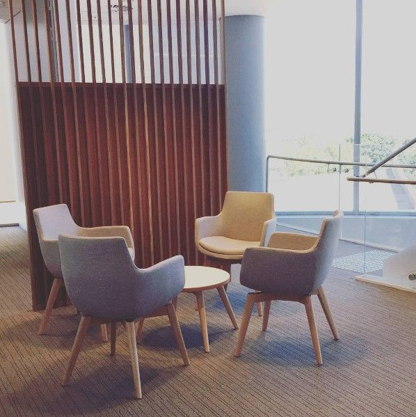 LOLLIPOP chairs by Burgtec (Anglican Church office fit-out)