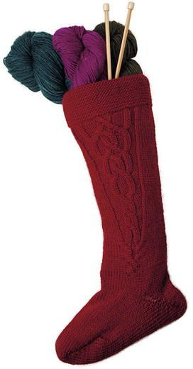 11 Old-Fashioned Knit Christmas Stockings                                                                                                                                                      More